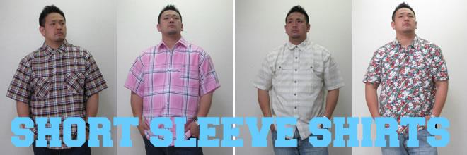 (大きいサイズ)半袖シャツ