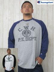 (大きいサイズ)Champion(チャンピオン)「C.W.H.」ロンTEE