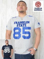 (大きいサイズ)FRANKLIN&MASHALL(フランクリンアンドマーシャル)「STATE 85−A」TEE