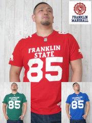 (大きいサイズ)FRANKLIN&MASHALL(フランクリンアンドマーシャル)「STATE 85−B」TEE