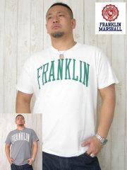 (大きいサイズ)FRANKLIN&MASHALL(フランクリンアンドマーシャル)「F−BASIC−1」TEE