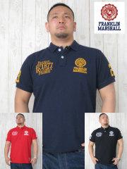 (大きいサイズ)FRANKLIN&MASHALL(フランクリンアンドマーシャル)「FM−1877」半袖ポロシャツ