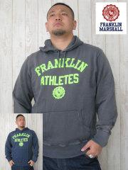 (大きいサイズ)FRANKLIN&MASHALL(フランクリンアンドマーシャル)「ATHLETES」HOODY