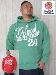 (大きいサイズ)FRANKLIN&MASHALL(フランクリンアンドマーシャル)「BELMONT」HOODY