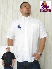 (大きいサイズ)デビルーズオリジナル「SMALL DEVIL」半袖シャツ