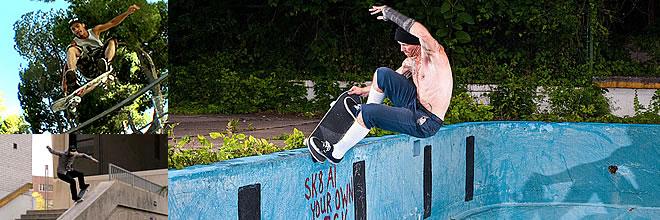 (大きいサイズ メンズ服 デビルーズ)スケートバナー